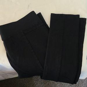 Ci Sono black juniors stretch leggings.